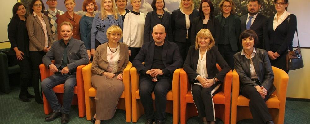 Wizyta Zespołu ds. oświaty polskiej mniejszości w Republice Litewskiej i litewskiej mniejszości w Rzeczpospolitej Polskiej w CEN w Suwałkach