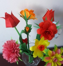 Wiosenne origami i nie tylko