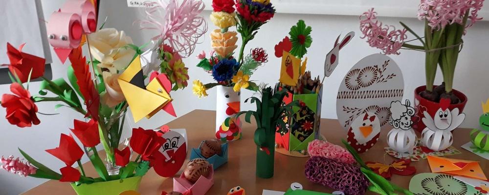 Wiosenno-świąteczne inspiracje plastyczne