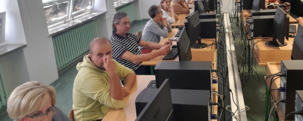 Szkolenie w Zespole Szkół Ogólnokształcących w Augustowie w I Liceum Ogólnokształcącym im. Grzegorza Piramowicza