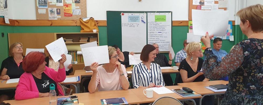 Szkolenie w II Liceum Ogólnokształcącym w Augustowie
