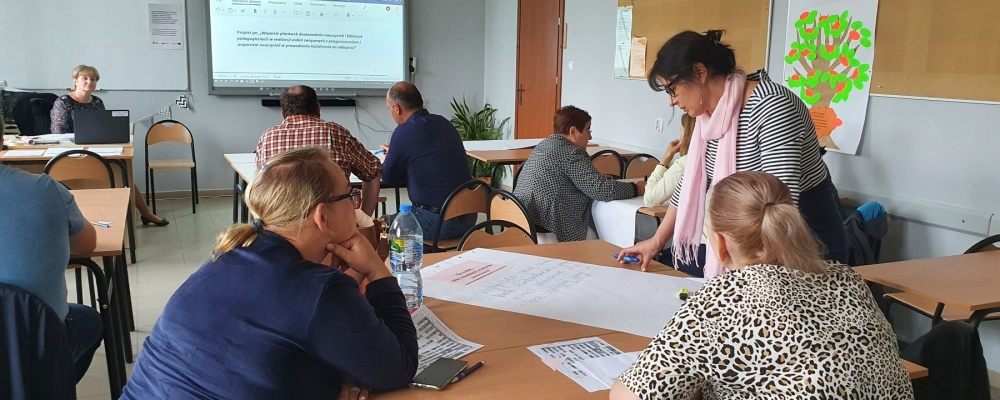 Szkolenie grantowe w Zespole Szkół Centrum Kształcenia Rolniczego im. Stanisława Staszica w Sejnach