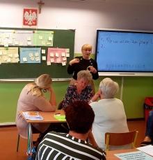 Szkolenie grantowe nauczycieli Szkoły Podstawowej im. Marszałka Józefa Piłsudskiego w Wiżajnach