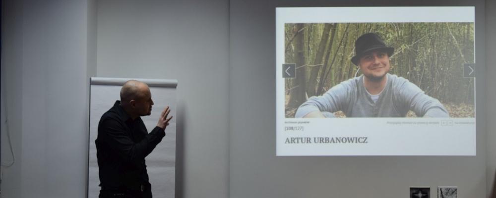 """""""GAŁĘZISTE"""" – spotkanie autorskie z Arturem Urbanowiczem"""