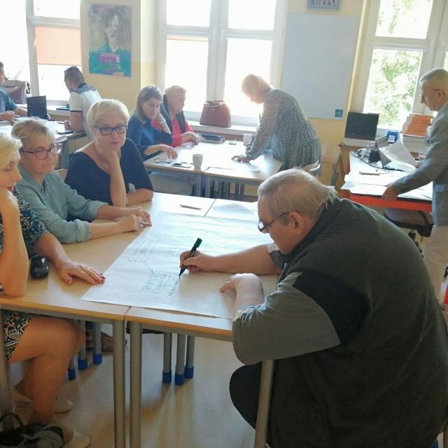 Drugi dzień warsztatów w Szkole Podstawowej im. Lotników Polskich w Płocicznie-Tartak