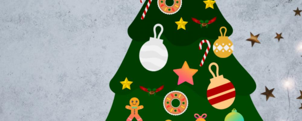 Kartka świąteczna w Genial.ly
