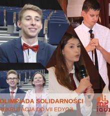 """Zapraszamy szkoły do udziału w konkursie """"Olimpiada Solidarności. Dwie dekady historii"""""""