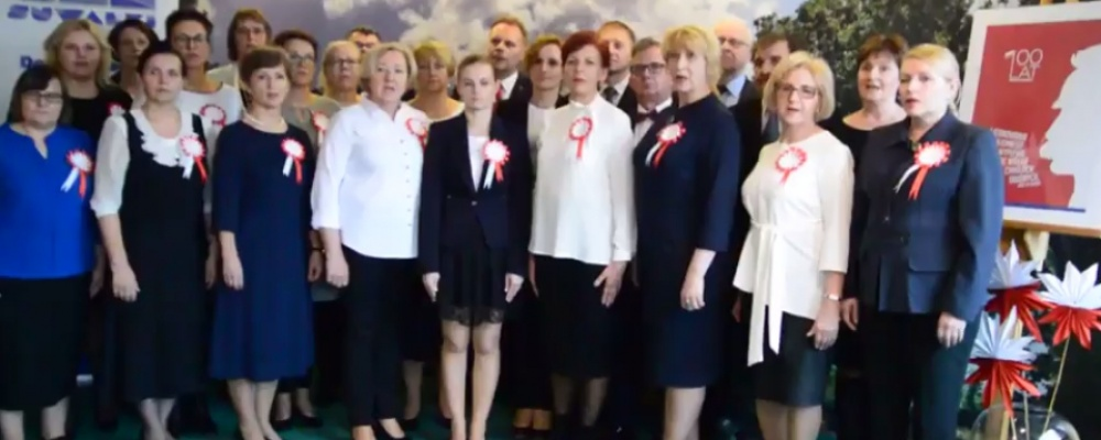 """""""Mazurek Dąbrowskiego"""" dla Niepodległej"""