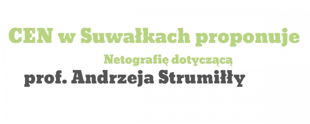 Twórczość i życie prof. Andrzeja Strumiłły – netografia