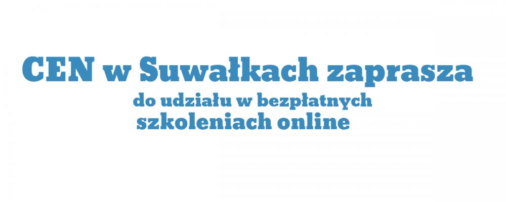 Zapraszamy do udziału w szkoleniach online w styczniu 2021