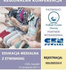 """Konferencja warsztatowa """"Edukacja Medialna z eTwinning"""""""