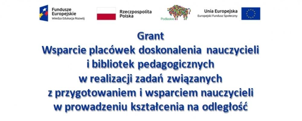 Nauczyciele Centrum uczestniczą w szkoleniu grantowym