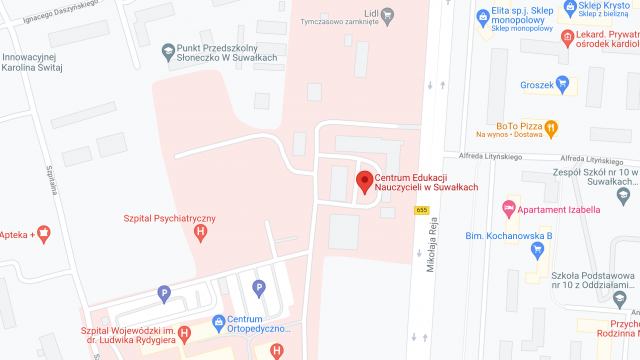 Centrum Edukacji Nauczycieli w Suwałkach