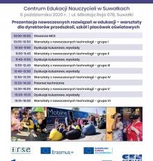 Konferencja warsztatowa Mobilnego Centrum Edukacyjnego FRSE – zapraszamy 6 października