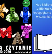 """Biblioteka Pedagogiczna CEN w Suwałkach zaprasza do udziału w akcji Noc Bibliotek – """"Klimat na czytanie"""""""