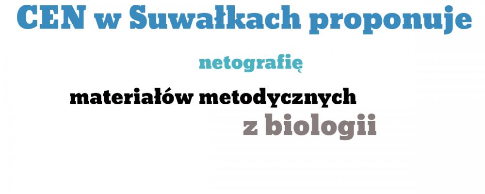 Netografia materiałów metodycznych z biologii
