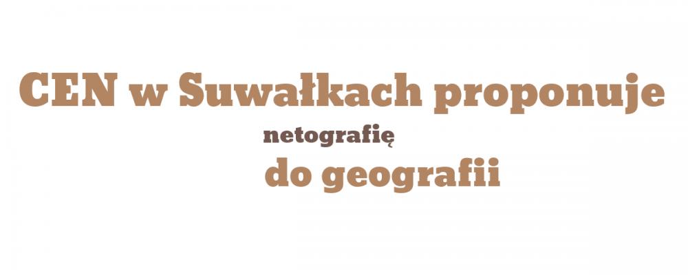 Netografia do przedmiotu geografia