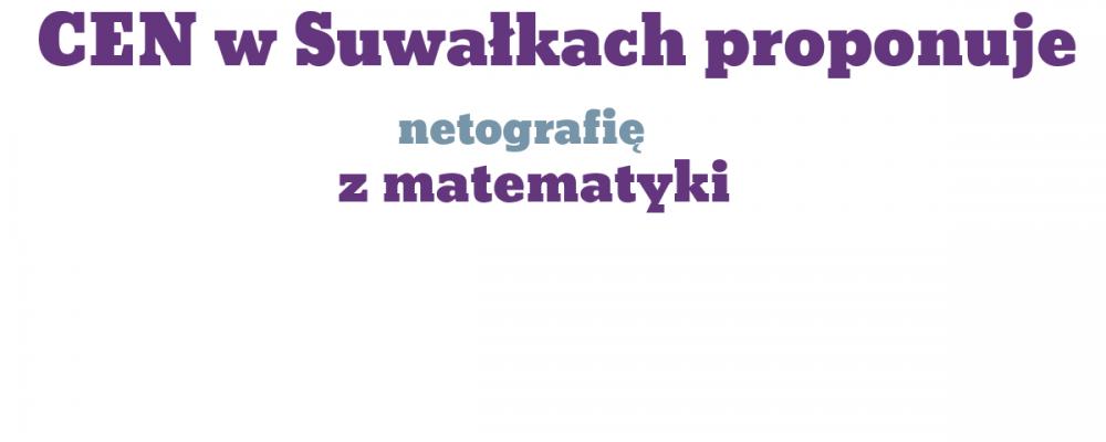 Netografia z matematyki